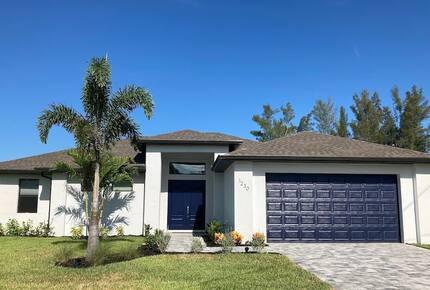 Home exchange in Cape Coral FL, 4 bedroom 5 bath sleeps 8