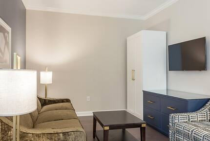 Home exchange in Charleston SC, 2 bedroom standard living room