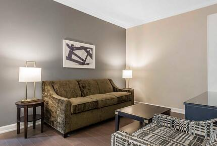 Home exchange in Charleston SC, one bedroom deluxe living room