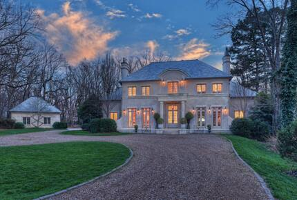 Home exchange in Charlotte NC, custom French baroque estate