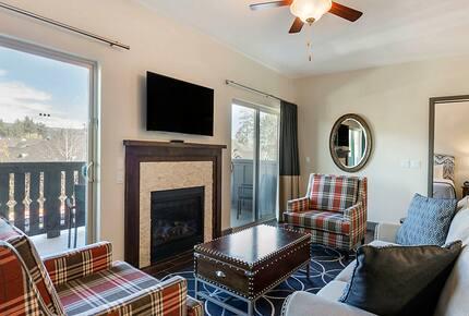 Home exchange, The Club at Big Bear Village, 2 bedroom living room