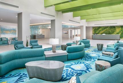 Home exchange in Cancun, the lobby at The Westin Resort & Spa