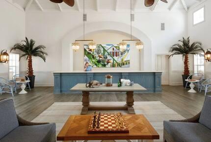 Home exchange in Key West FL, Hyatt Beach House lobby