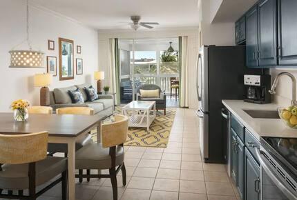 Home exchange in Key West FL, Hyatt Beach House main living area