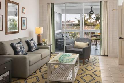 Home exchange in Key West FL, Hyatt Beach House living room