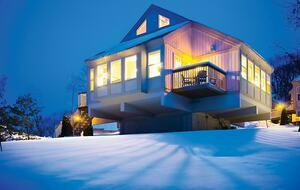 Home exchange in Wisconsin Dells, 1 2 & 3 bedroom townhomes in winter