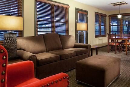 Home exchange in Wisconsin Dells, 2 bedroom deluxe timber living area