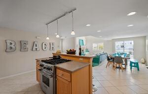 Home exchange in Oxnard CA, open floor plan main living area