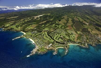 Aerial of the Kapalua Resort