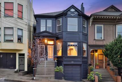 Designer Victorian Masterpiece - San Francisco, California