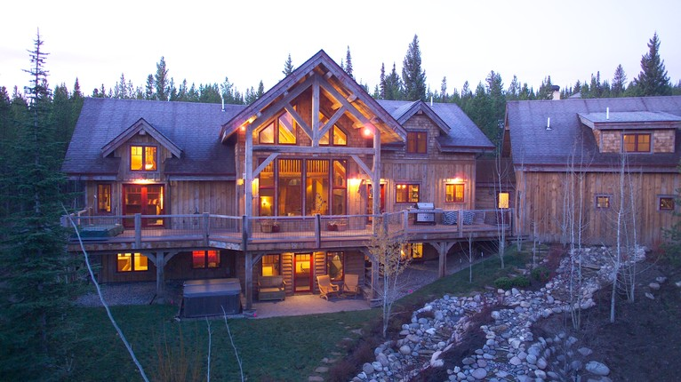 Rickatie Ranch Big Sky Montana THIRDHOME Luxury Home Exchange