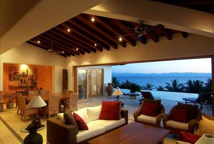 Casa Pacifico - An Oceanside Paradise On The Riviera Nayarit - Costa Vallarta, Mexico