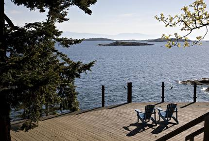 250 Ft of Pristine West Coast Oceanfront - Nanoose Bay, Vancouver Island, Canada
