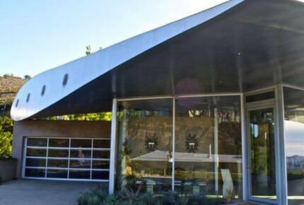 The Famous Malibu 747 Wing House - Malibu, California