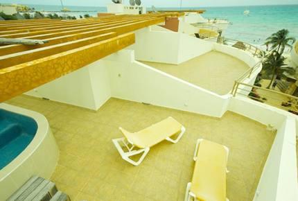 Downtown Playa del Carmen Oceanfront Condo - Playa del Carmen, Mexico