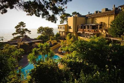 Hyatt Carmel Highlands Overlooking the Pacific Coast