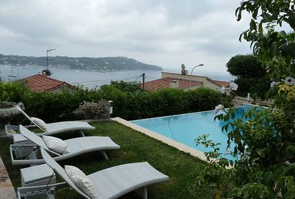 Detached Villa in Cote d'Azur with Panoramic Sea Views