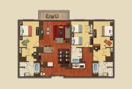 The Ritz-Carlton Destination Club, Lake Tahoe - 3 Bedroom - Truckee, California