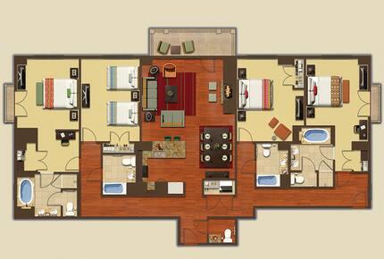 The Ritz-Carlton Destination Club, Lake Tahoe - 4 Bedroom - Truckee, California