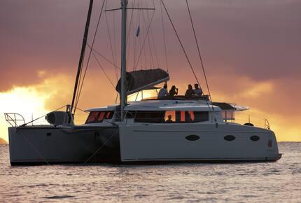 TradeWinds 52ft 5 Cabin Crewed Catamaran Cruising Class - St. Martin Sailing Vacation
