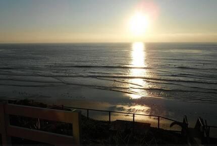 Beachfront California Cottage