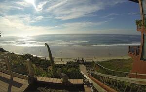 Beachfront California Cottage - Encinitas, California