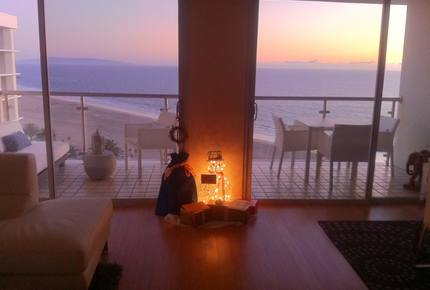 Platinum Vacations - Chic Ocean View 1 Bedroom Residence - Santa Monica, California