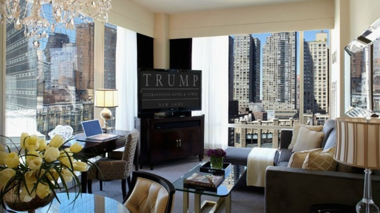Trump International Hotel And Tower 1 Bedroom Residence City View New York City New York