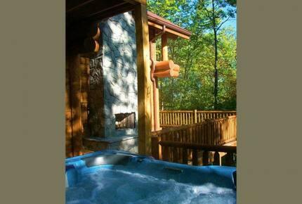 Beautiful Smoky Mountain Log Home