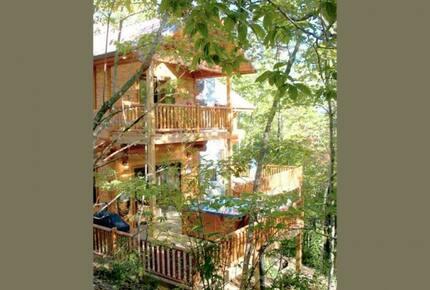Beautiful Smoky Mountain Log Home - Bryson City, North Carolina