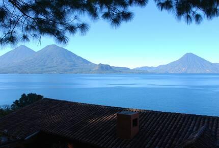 "Caelum et Terra, ""HEAVEN AND EARTH"" - Lake Atitlan, Guatemala"