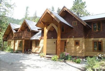 Mountain Lodge on Ivey Lake