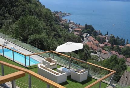 Modern Retreat at Lake Como, Italy
