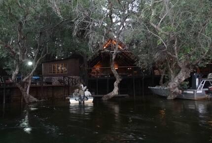 A Meru Safari Tent at the Ichingo River Lodge - Eastern Caprivi, Namibia