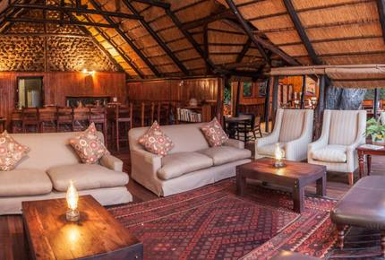 A Meru Safari Tent at the Ichingo River Lodge