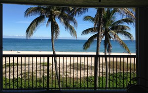 Balcony beach