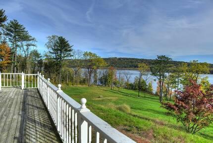 Hudson River Mansion