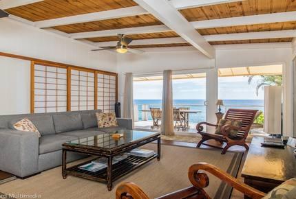 Waimea Bay Oceanfront - Haleiwa, Hawaii