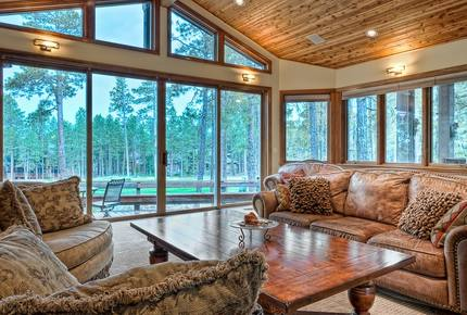 Gorgeous Golf Course Villa of Forest Highlands