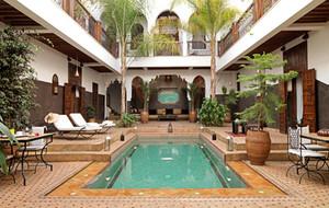 Big riad kasbah marrakech